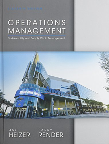 9780133408010: Operations Management with Access Code: Sustainability and Supply Chain Management