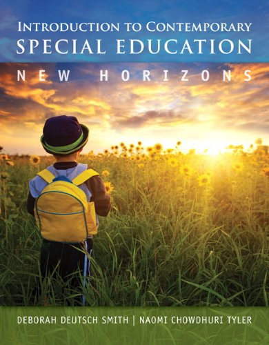 Introduction to Contemporary Special Education: New Horizons,: Brenda D. Smith,