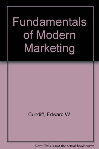 9780133412062: Fundamentals of Modern Marketing
