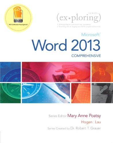 9780133412222: Exploring: Microsoft Word 2013, Comprehensive