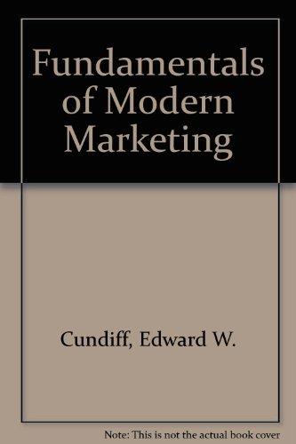 9780133412482: Fundamentals of Modern Marketing