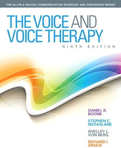 Voice and Voice Therapy, The, Video-Enhanced Pearson: Boone, Daniel R.,