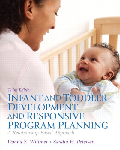 Infant and Toddler Development and Responsive Program: Donna S. Wittmer