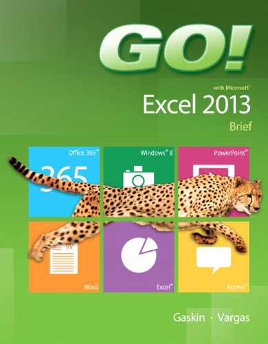 9780133414424: GO! with Microsoft Excel 2013 Brief