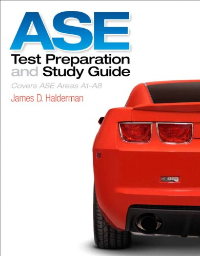 9780133414950: ASE Test Prep and Study Guide (Automotive Comprehensive Books)