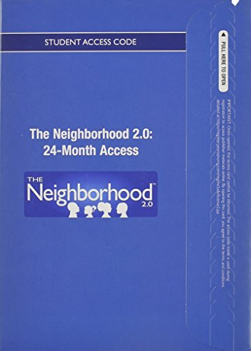 Neighborhood 2.0 Printed Access Card (24 Months): Pearson Education, Inc.
