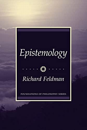 9780133416459: Epistemology
