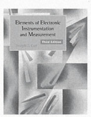 9780133416862: Elements of Electronic Instrumentation and Measurements (3rd Edition)