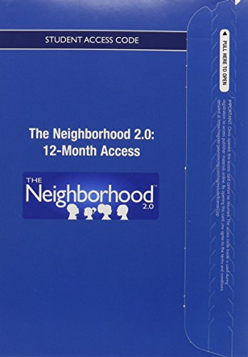 9780133416954: Neighborhood 2.0 -- Access Card (12 months)
