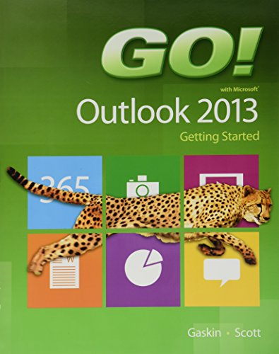 9780133417425: GO! with Microsoft Outlook 2013 Getting Started (GO! for Office 2013)