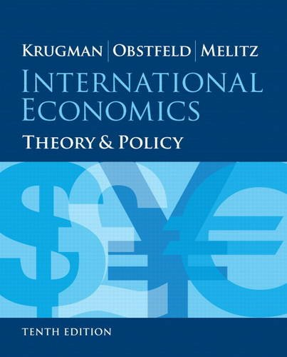9780133423648: International Economics: Theory and Policy