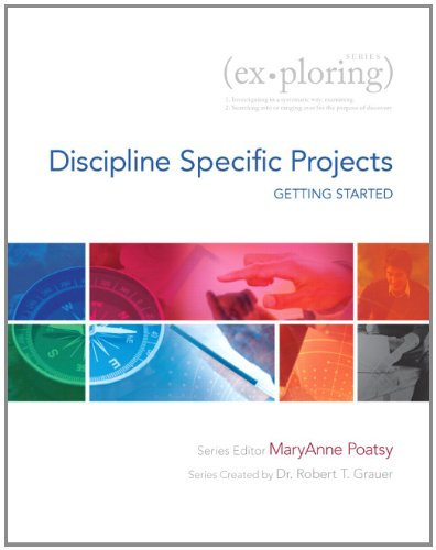 9780133426427: Exploring Getting Started with Discipline Specific Projects (Exploring for Office 2013)