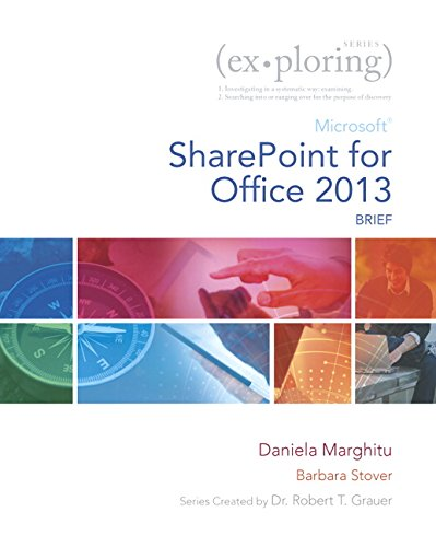 9780133426540: Exploring Microsoft SharePoint for Office 2013, Brief (Exploring for Office 2013)