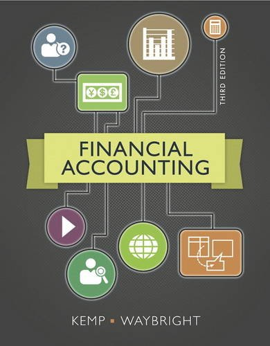 9780133427882: Financial Accounting (3rd Edition)