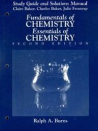 9780133430547: Fundamentals of Chemistry