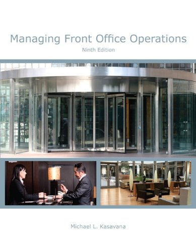 9780133430783: Managing Front Office Operations with Answer Sheet (AHLEI) (9th Edition) (AHLEI - Front Office Operations)