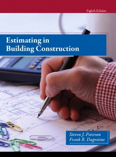 9780133431100: Estimating in Building Construction