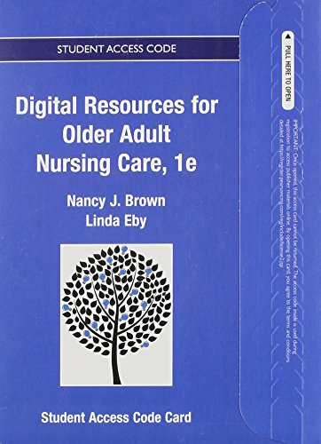 9780133431315: Textbook Resources for Older Adult Nursing Care--Access Card