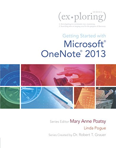 9780133434323: Exploring Getting Started with Microsoft OneNote for Office 2013 (Exploring for Office 2013)