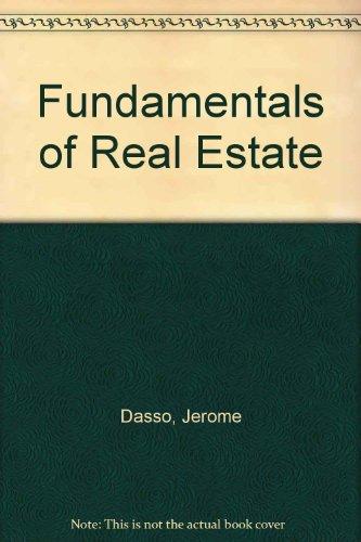 9780133434422: Fundamentals of Real Estate