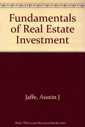 9780133434767: Fundamentals of Real Estate Investment