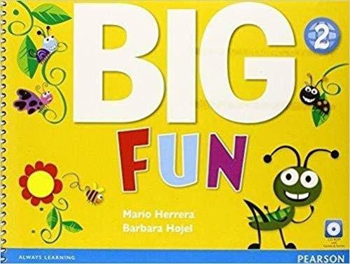 9780133437430: Big Fun 2 Student Book with CD-ROM