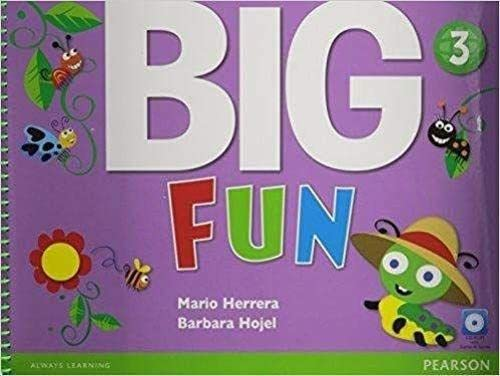 9780133437447: Big Fun 3 Student Book with CD-ROM
