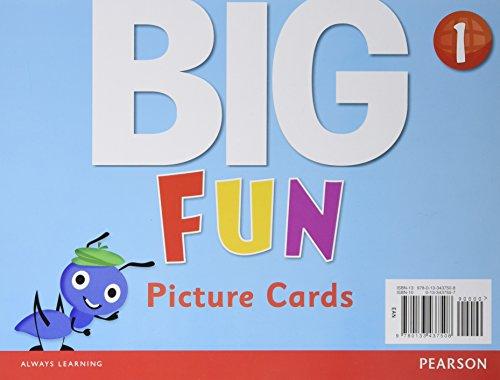 9780133437508: Big Fun 1 Picture Cards