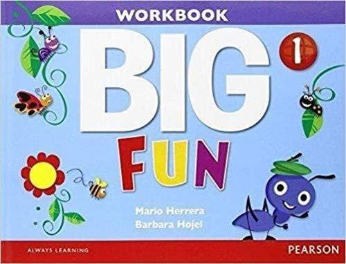 9780133437546: Big Fun 1 Workbook with Audio CD