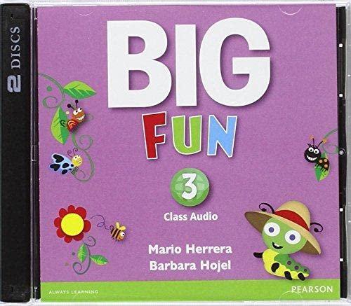 9780133437614: Big Fun 3 Class Audio