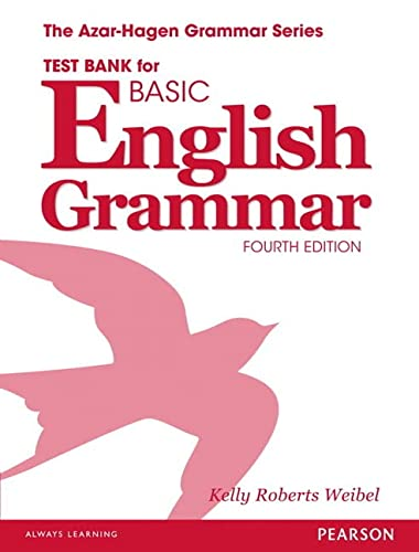 9780133438376: Test Bank for Basic English Grammar