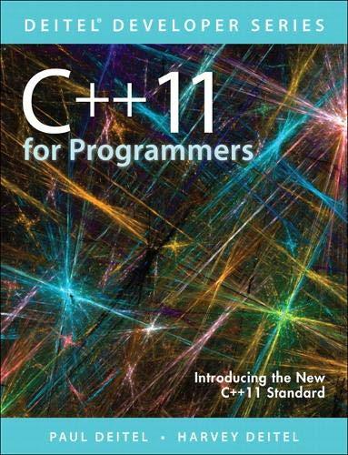 9780133439854: C++11 for Programmers (2nd Edition) (Deitel Developer Series)