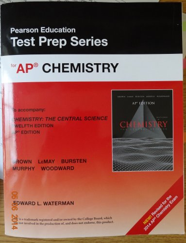 9780133439922: Pearson Education Test Prep Series for AP Chemistry (New - Revised for the 2014 AP Chemistry Exam)