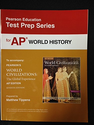9780133439939: Test Prep Series for AP World History--To Accompany: Pearson's World Civilizations: The Global Experience