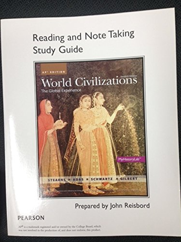 9780133439946: World Civilization - Reading and Note Taking Study Guide - AP Edition