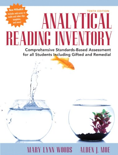9780133441543: Analytical Reading Inventory: Comprehensive Standards-Based Assessment for All Students Including Gifted and Remedial (10th Edition)