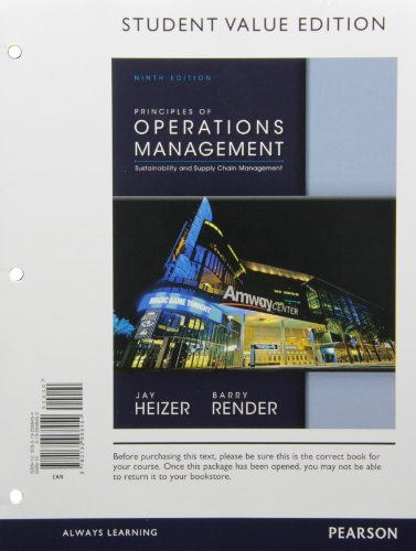 9780133443585: Principles of Operations Management, Student Value Edition Plus NEW MyOMLab with Pearson eText -- Access Card Package (9th Edition)