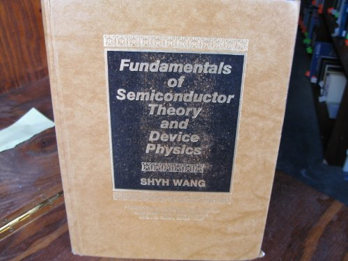 9780133444094: Fundamentals of Semiconductor Theory and Device Physics (Prentice Hall Series in Electrical and Computer Engineering)