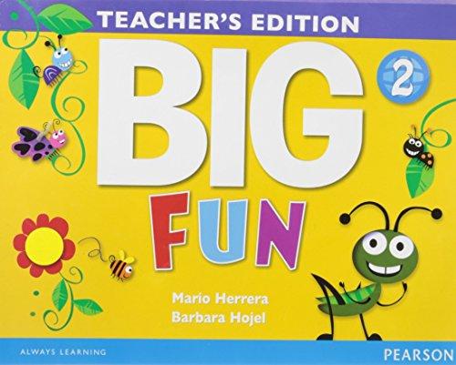 9780133445190: Big Fun 2, Teacher's Edition