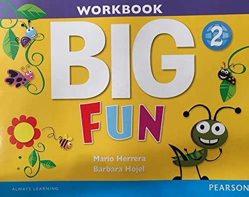 9780133445220: Big Fun 2 Workbook with Audio CD