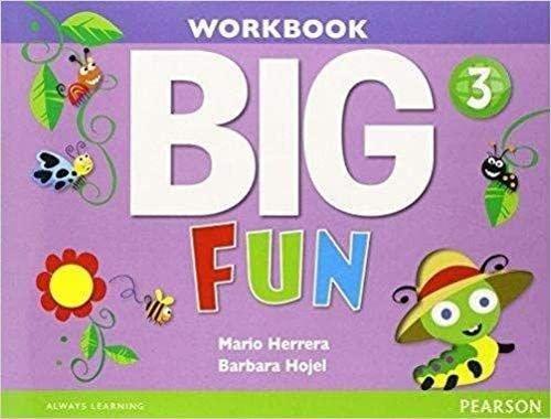 9780133445275: Big Fun 3 Workbook with Audio CD