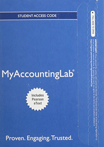 9780133450095: NEW MyLab Accounting with Pearson eText -- Access Card -- for Financial Accounting