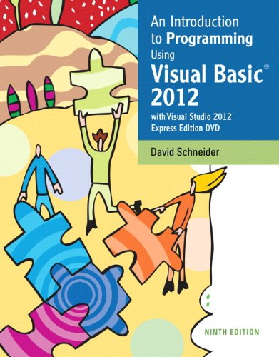 9780133450866: Intro to Programming Using Visual Basic 2012 plus MyProgrammingLab with Pearson eText -- Access Card Package (9th Edition)