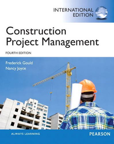 9780133451160: Construction Project Management: International Edition