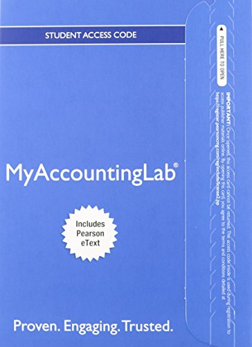 9780133451245: Horngren's Financial & Managerial Accounting, The Financial Chapters, Student Value Edition and NEW MyAccountingLab with Pearson eText -- Access Card Package (4th Edition)