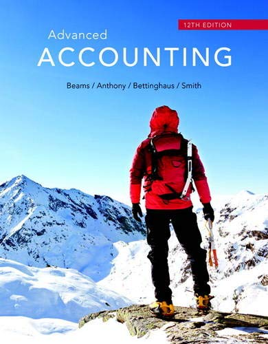 Advanced Accounting (Instructor's Review Copy): Beams, Floyd A.
