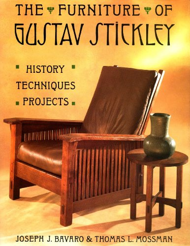 9780133451900: The Furniture of Gustav Stickley: History, Techniques, Projects