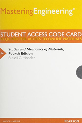 MasteringEngineering -- Standalone Access Card -- for: Russell C. Hibbeler