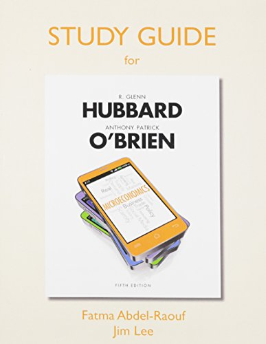 9780133455823: Study Guide for Microeconomics