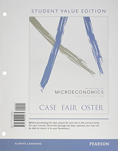 9780133456301: Principles of Microeconomics with Access Code